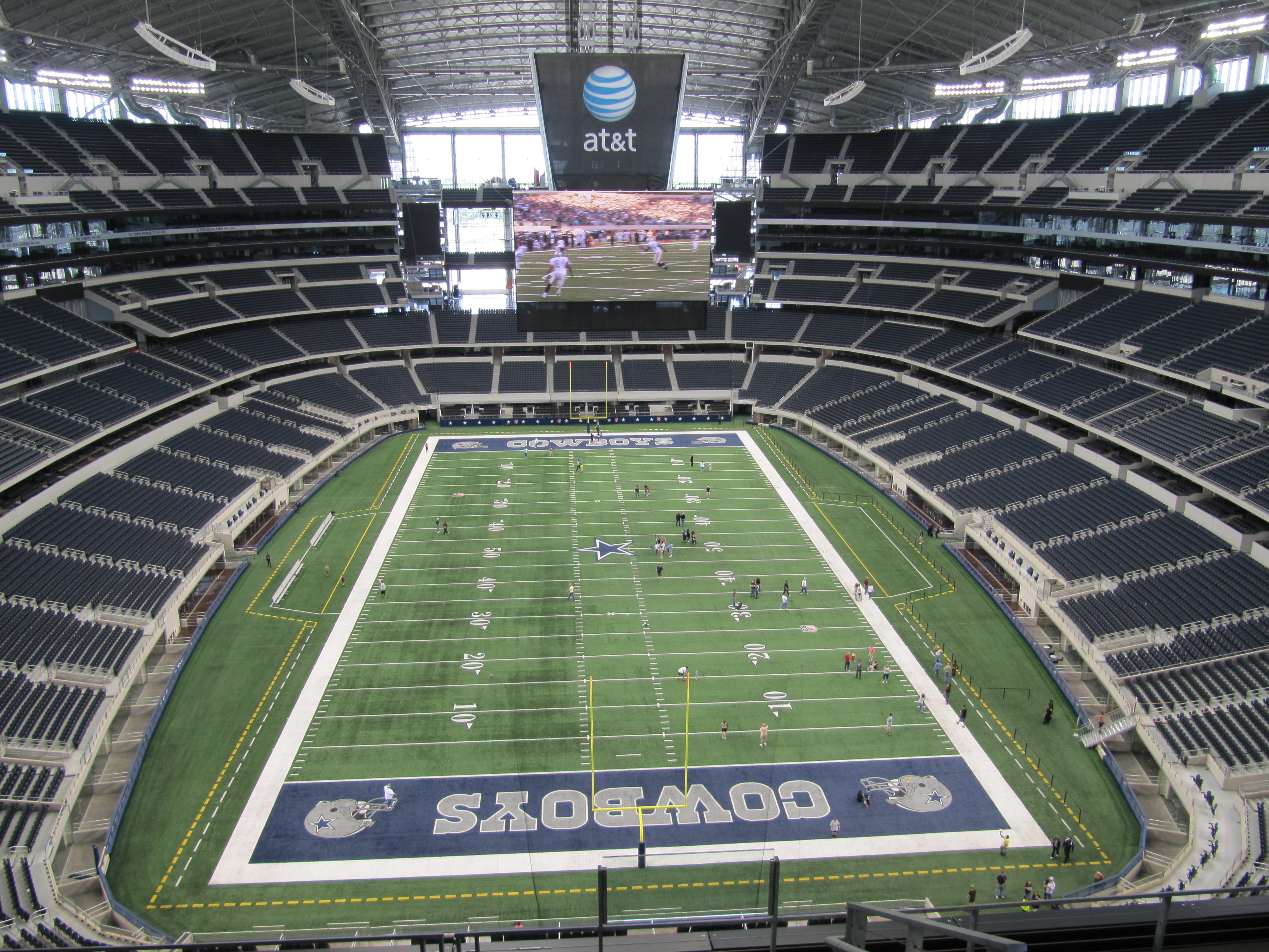 How Much Does The Tour Of Dallas Cowboys Stadium