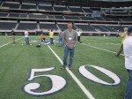 I liked the 50 yard line